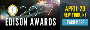 2017 Edison Awards | April 20 | New York, NY