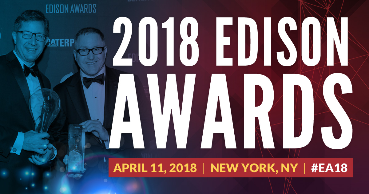 2018 Edison Awards | April 11 | New York, NY