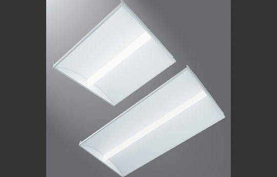 Metalux™ SkyRidge™ Luminaires with Integrated Sensor Control System