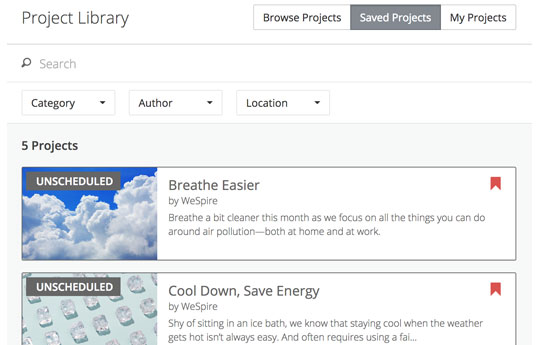 Behavioral Project Library