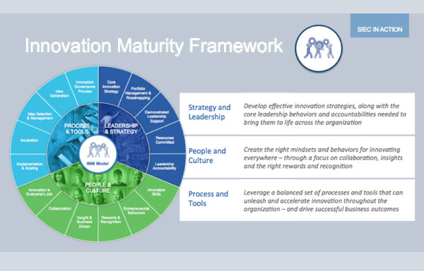 Services Innovation Excellence Center's (SIEC) Innovation Maturity Model and Assessment (IMM and IMA)