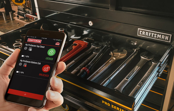 Craftsman ProSeries Tool Storage with Smart Lock Technology