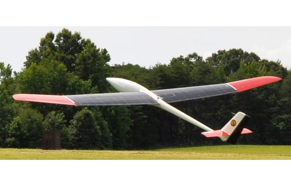 Solar Soaring Unmanned Aerial Vehicle