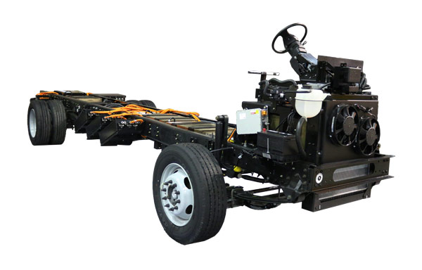 Motiv Ford F59 Electrified Chassis for Walk-in Van