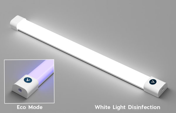 VioSafe™ White Light Disinfection Technology