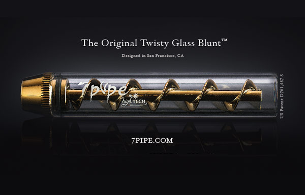 Twisty Glass Blunt