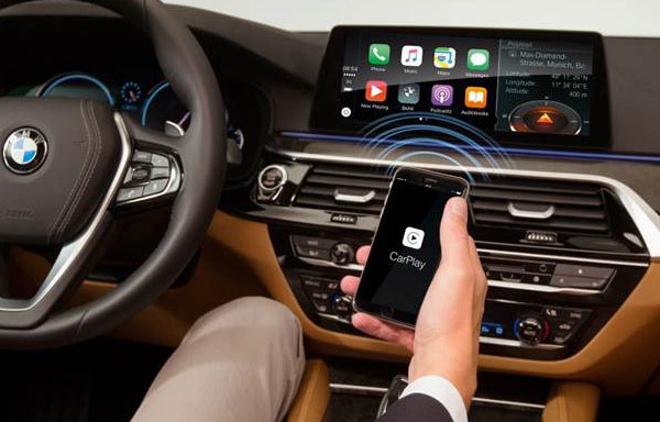 Wireless Apple CarPlay integration