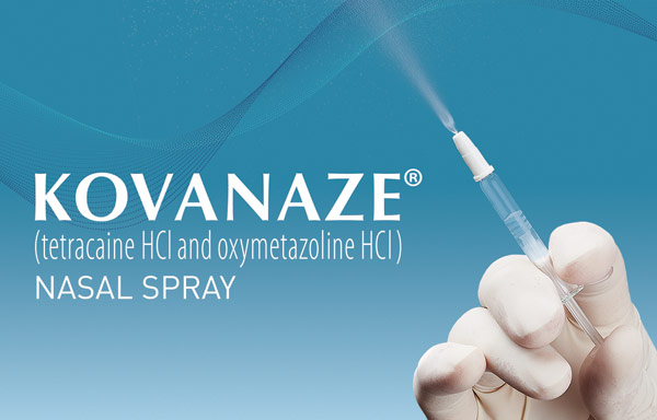 Kovanaze® (tetracaine HCl and oxymetazoline HCl) Nasal Spray