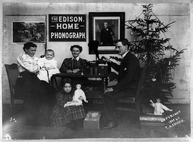 Edison, who had recently demonstrated his phonograph to US President  Rutherford B. Hayes, sought to gain public interest for his lighting  innovations. - Thomas Edison, The Father Of Modern Christmas Lights