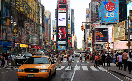 Top things to do in new york edison awards news for Things to in times square