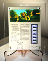 Microprocessor Controlled Patent Wall Plaque