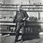 Thomas Edison at Menlo Park
